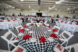 Indianapolis Motor Speedway Chalets for Events