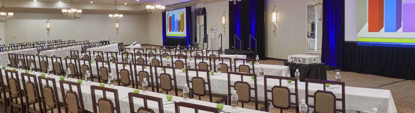 Classroom Style Conference at Ritz Charles Ballrooms