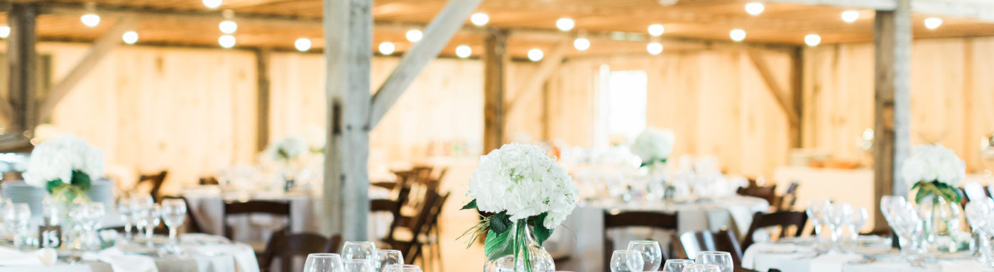 Barn Wedding Reception Two Story